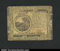Colonial Notes:Continental Congress Issues, May 10, 1775, $6, Continental Congress Issue, CC-6, VF. Rounded...