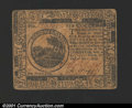 Colonial Notes:Continental Congress Issues, May 10, 1775, $6, Continental Congress Issue, CC-6, VF....