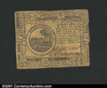 Colonial Notes:Continental Congress Issues, May 10, 1775, $6, Continental Congress Issue, CC-6, VG-Fine....