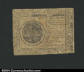 Colonial Notes:Continental Congress Issues, May 10, 1775, $7, Continental Congress Issue, CC-7, Fine-VF. Mo...