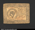 Colonial Notes:Continental Congress Issues, May 10, 1775, $8, Continental Congress Issue, CC-8, Fine....