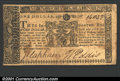 Colonial Notes:Maryland, April 10, 1774, $1, Maryland, MD-66, VF-XF. ...