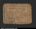 Colonial Notes:North Carolina, August 8, 1778, $25, North Carolina, NC-179, VG. Rough borders,...