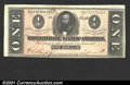 Confederate Notes:1864 Issues, 1864 $1 Clement C. Clay, T-71, CU. Broad left and upper margins...