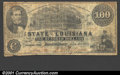 Obsoletes By State:Louisiana, 1863 $100 State of Louisiana, Shreveport, VG. Cr-11. ...