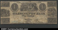 Obsoletes By State:Ohio, 1840 $1 Washington Bank, Miamisburg, Ohio, VG. G2. ...