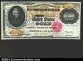 Large Size:Gold Certificates, 1900 $10,000 Gold Certificate, Fr-1225, Choice CU. A magnificen...