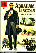 Silver Age (1956-1969):Miscellaneous, Abraham Lincoln Life Story #1 (Dell Giant) (Dell, 1958). ...
