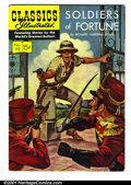 """Golden Age (1938-1955):Classics Illustrated, Classics Illustrated #119 (Gilberton, 1954). Condition: VG+. FirstPrinting. """"Soldiers of Fortune"""" by Richard Davis Harding...."""