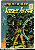 Golden Age (1938-1955):Science Fiction, Incredible Science Fiction #33 (EC, 1956). Condition: GD/VG....