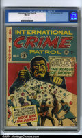 Golden Age (1938-1955):Crime, International Crime Patrol #6 (EC, 1948). Condition: CGC FN- 5.5, off-white to white pages. Overstreet 2001 FN 6.0 value = $...
