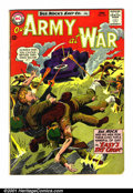 Silver Age (1956-1969):War, Our Army At War #143 (DC, 1964). Condition: VG. Tear on bottom of page 5, second story....