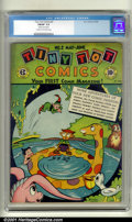 Golden Age (1938-1955):Funny Animal, Tiny Tot Comics #2 (EC, 1946). Condition: CGC FN/VF 7.0. Cream tooff-white pages. Slightly rusted staples. Overstreet 2001 ...