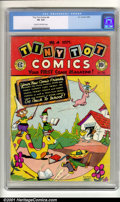 Golden Age (1938-1955):Funny Animal, Tiny Tot Comics #4 (EC, 1946). Condition: CGC VG 4.0, cream tooff-white pages. Overstreet 2001 GD 2.0 value = $19; FN 6.0 v...
