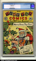 Golden Age (1938-1955):Funny Animal, Tiny Tot Comics #10 (EC, 1947). Condition: VG/FN 5.0, cream tooff-white pages....