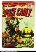 Golden Age (1938-1955):Science Fiction, Tom Corbett, Space Cadet (2nd Series) #2 (Prize, 1955). Condition:VG....