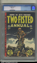 Golden Age (1938-1955):War, Two-Fisted Tales Annual# 2 (EC, 1953). Condition: CGC FN/VF 7.0,off-white pages. Overstreet 2001 FN 6.0 value = $153; NM 9....
