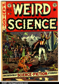 Golden Age (1938-1955):Science Fiction, Weird Science #13 (EC, 1952). Condition: FN-....