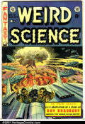 "Golden Age (1938-1955):Horror, Weird Science (EC) #18 (EC, 1953). Condition: VG-. 1"" splits at topand bottom of spine...."