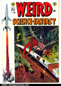Golden Age (1938-1955):Science Fiction, Weird Science-Fantasy #23 (EC, 1954). Condition: FN-. Signed byWally Wood....