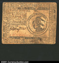 Colonial Notes:Continental Congress Issues, February 17, 1776, $3, Continental Congress Issue, CC-25, VF. ...