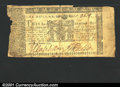 Colonial Notes:Maryland, April 10, 1774, $1, Maryland, MD-66, VG. The irregular edges do...