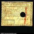 Colonial Notes:Massachusetts, May 5, 1780, $2, Massachusetts, MA-279, Fine-VF, hole punch can...