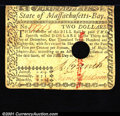 Colonial Notes:Massachusetts, May 5, 1780, $2, Massachusetts, MA-279, Fine, hole punch cancel...