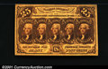 Fractional Currency:First Issue, 1862-1863 25c First Issue, Jefferson, Fr-1281, Choice AU. ...