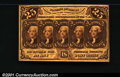 Fractional Currency:First Issue, 1862-1863 25c First Issue, Jefferson, Fr-1281, AU. Attractive a...
