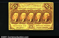 Fractional Currency: , 1862-1863 25c First Issue, Jefferson, Fr-1281, XF-AU. One tiny ...