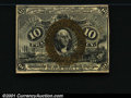 Fractional Currency:Second Issue, 1863-1867 10c Second Issue, Washington, Fr-1244, Choice AU. Clo...