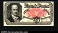 Fractional Currency: , 1874-1876 50c Fifth Issue, Crawford, Fr-1380, Choice AU. You ma...