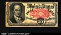 Fractional Currency:Fifth Issue, Fifth Issue 50c, Fr-1381, VF. There is a small stain on the rev...