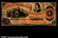 Obsoletes By State:Georgia, 1861 $5 Augusta Insurance & Banking Co., Augusta, GA, VG+....