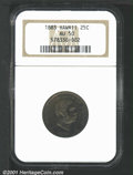 Coins of Hawaii, 1883 25C HAWAII