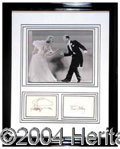 Autographs, Fred Astaire & Ginger Rogers