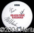 Autographs, Grand Funk Railroad