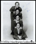 Autographs, The Osmond Brothers