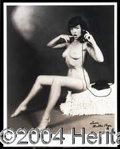 Autographs, Bettie Page