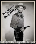 Autographs, Western Legends