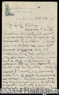 Autographs, Luther Burbank