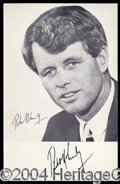 Autographs, Robert Kennedy