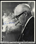 Autographs, George Meany
