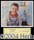 Autographs, Wally Schirra