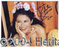 Autographs, Maria Conchita Alonzo