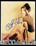 Autographs, Catherine Zeta-Jones