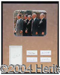 Autographs, The Five Presidents