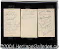 Autographs, 1941 Brooklyn Dodgers