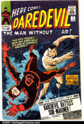 Silver Age (1956-1969):Superhero, Daredevil #7 (Marvel, 1965). Condition: GD. First red costume....